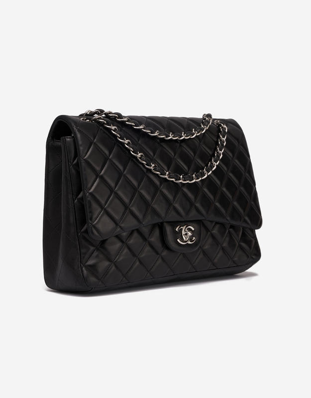 Chanel Timeless Maxi Lamb Black