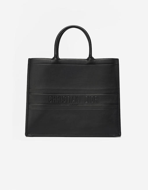 Dior Book Tote Bag Black