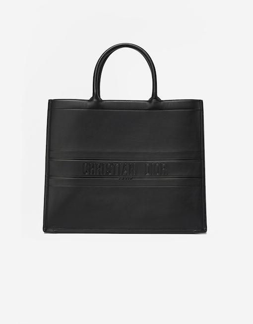 Dior Book Tote Bag Black