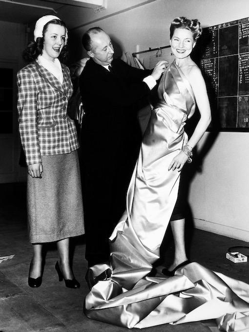 Designer Christian Dior 1951