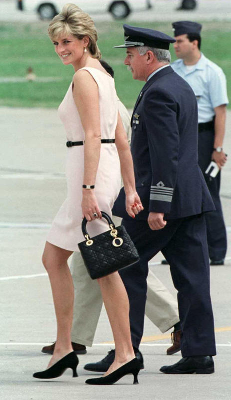 Princess Diana Lady Dior Bag 1995