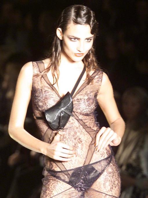 Christian Dior Vintage Saddle Bag 2000