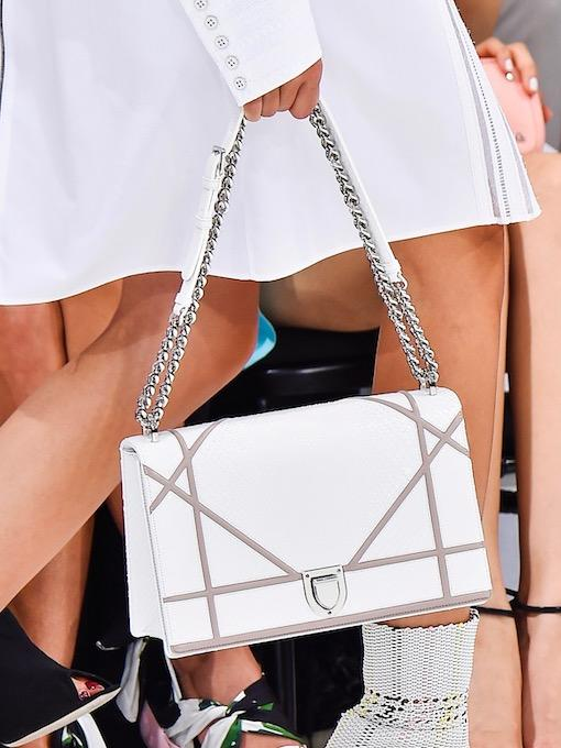 White Dior Diorama Bag Runway Spring Summer 2015