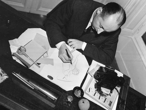 Designer Christian Dior Paris