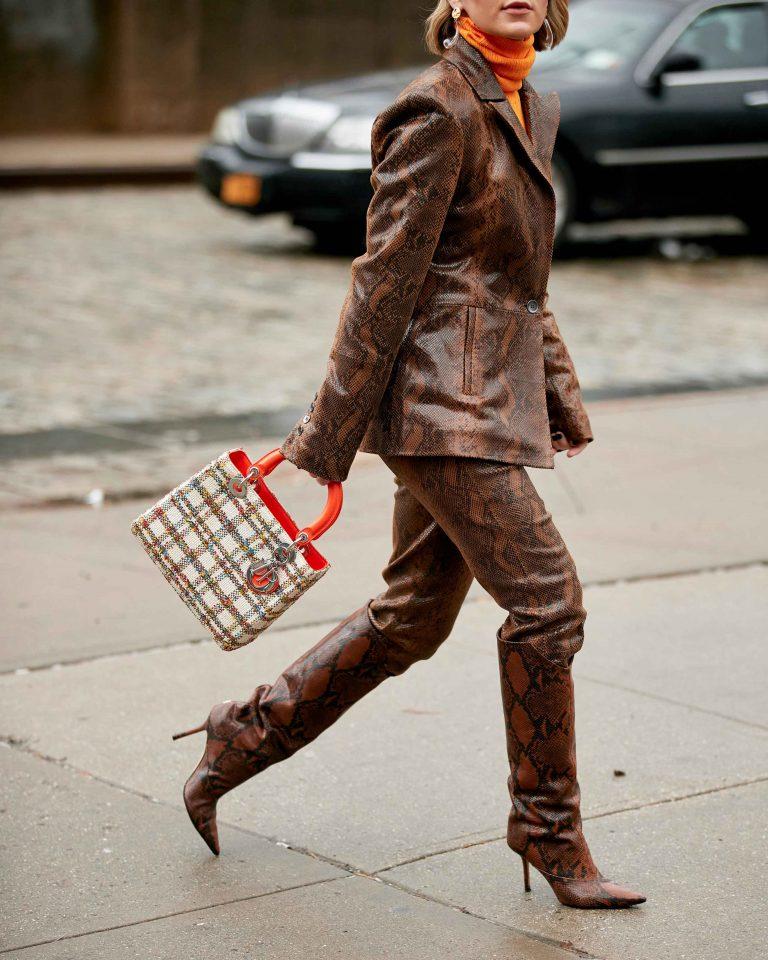 SACLÀB Lady Dior Tweed Streetstyle Imaxtree