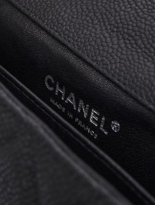 Chanel Timeless Extra Mini Caviar Black Saclàb Logo