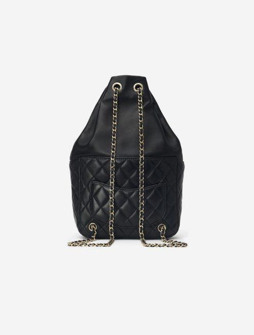 Chanel Backpack Seoul Lamb Black Saclàb Luxury Vintage Back