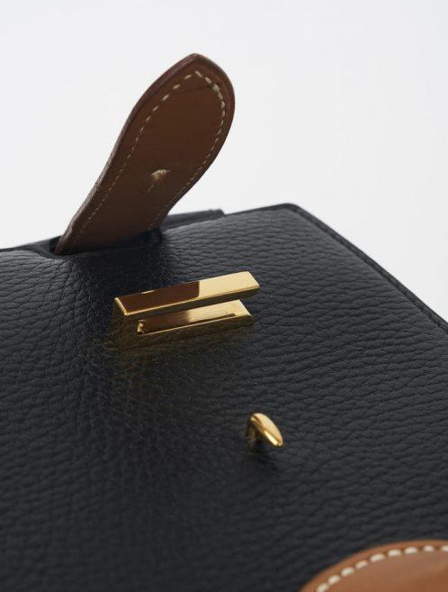 Hermès Birkin Airport Travel Bag Ardennes Noir Barenia Saclàb Luxury Sale Gold plated