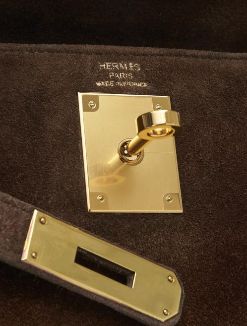 Hermès Kelly 28 Doblis Noisette Saclàb