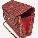 Chanel Timeless Picnic Wicker Red Saclàb Open