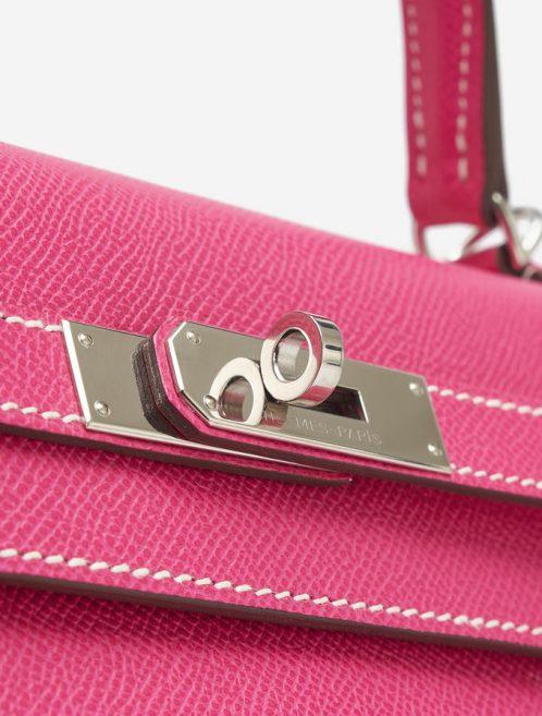 Hermès Kelly 35 Espom Rose Tyrien Rubis Candy Collection Saclàb