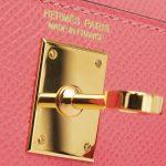 Hermes Kelly 20 Epsom Rose Azalee Mini L