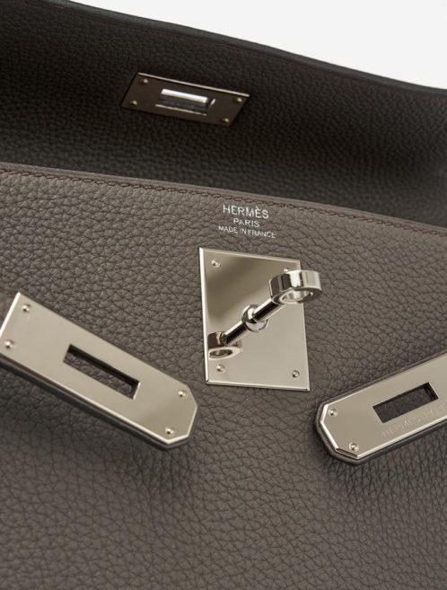Hermès Kelly 28 Togo Étain Saclab designer bag resale