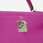 Hermès Kelly 28 Togo Magnolia consignment designer handbags saclab