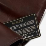 Chanel Timeless Medium Lizard Brown Authenticity Card