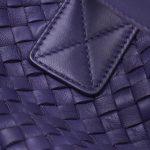 Bottega Veneta Cabat Medium Purple Detail Intrecciato