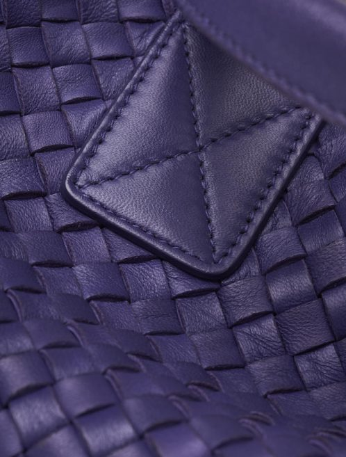 Bottega Veneta Cabat Medium Purple Detail Intrecciato