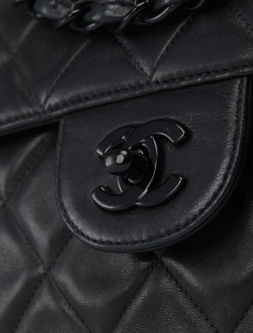 Chanel Classic Jumbo Lamb Leather Black Saclab