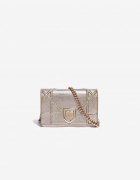 Dior Diorama pre-loved Mini bag Metallic Gold SACLÀB