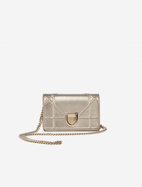 Dior Diorama Mini Metallic Champagne Gold, Metallic  | Sell your designer bag on Saclab.com