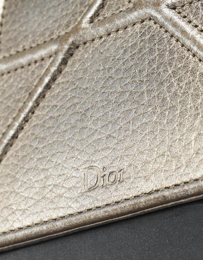 Dior Diorama Mini Metallic Champagne saclab