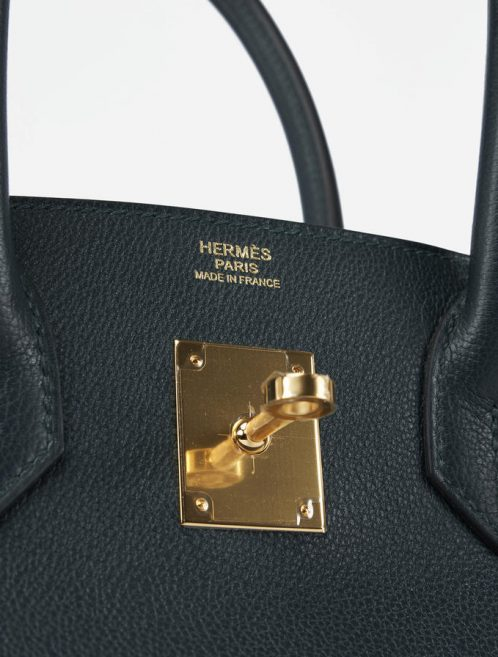 Hermès Birkin 30 Taurillion Novillo Vert Cypress Saclab