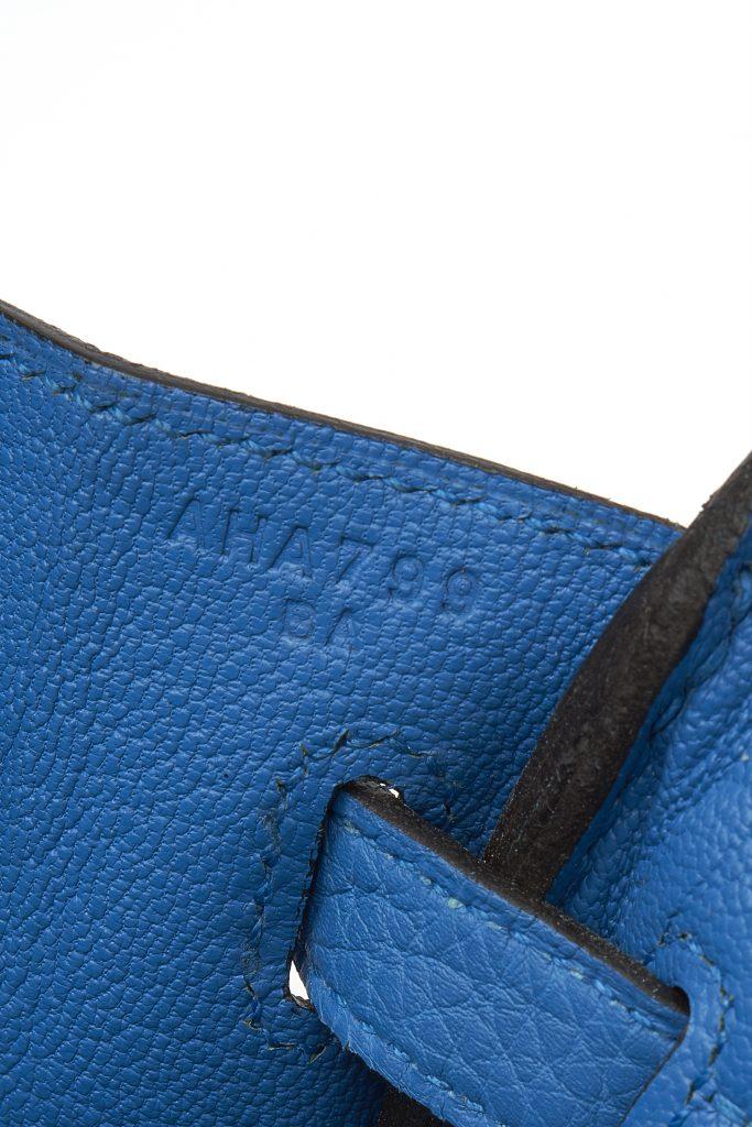 Hermès Birkin 25 Blue Zanzibar
