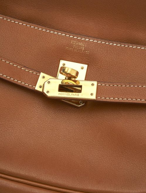 62 Hermes Kelly Swift Gold Pochette Belt Gold Saclab Belt
