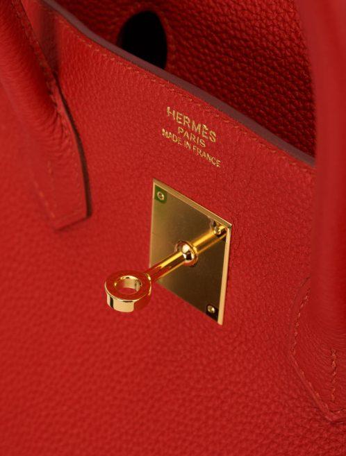 Hermes Birkin 35 Togo Vermillion Saclab