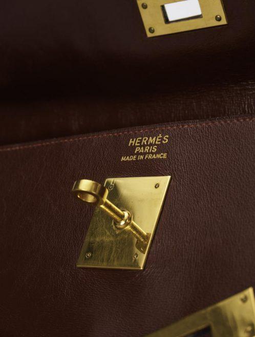 Hermes Kelly 35 Box Calf Rouge H Saclàb