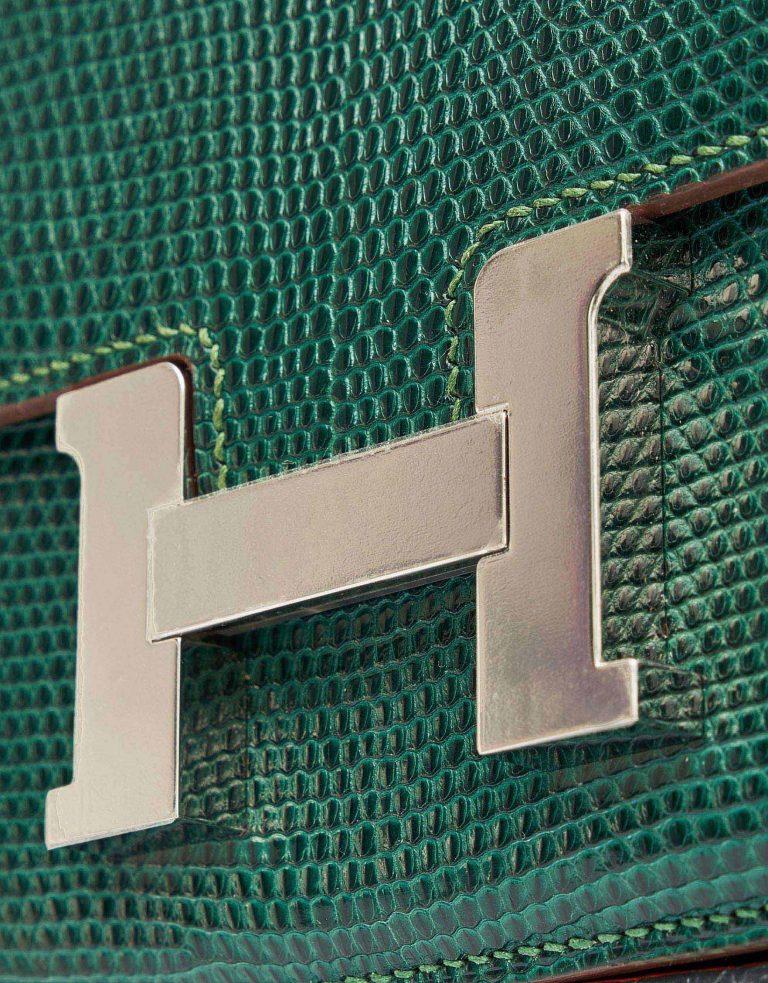 Hermes Constance 18 Lizard Vert Emerald