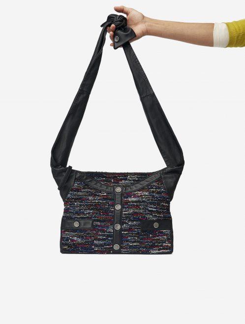 Chanel_Girl_Bag_Lambskin_Tweed Saclab Front