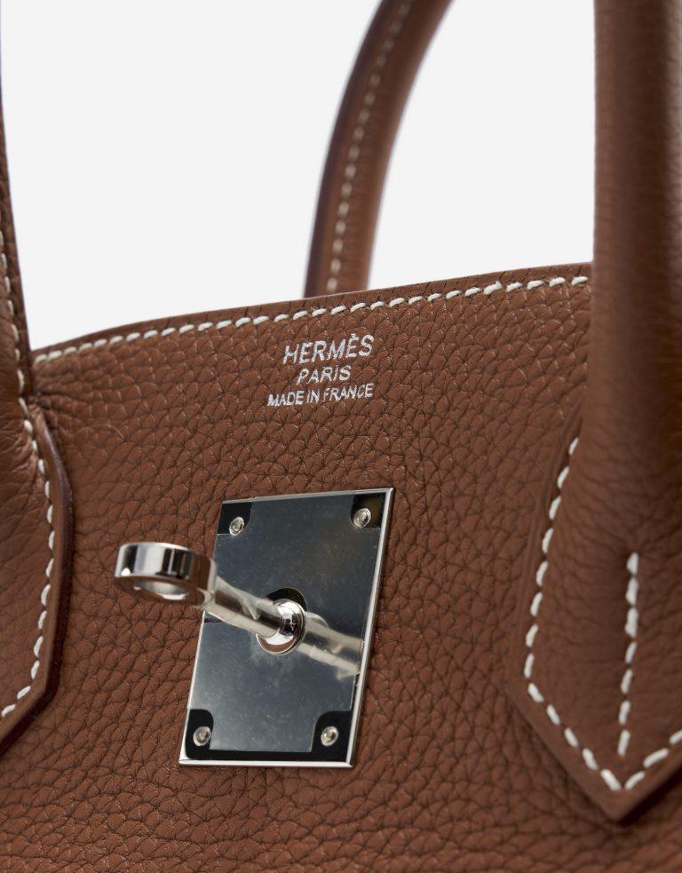 Hermès Birkin 30 Togo Gold Palladium Hardware