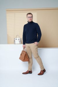 Hermès Birkin 40 Togo Gold Oliver Stueck SACLÀB