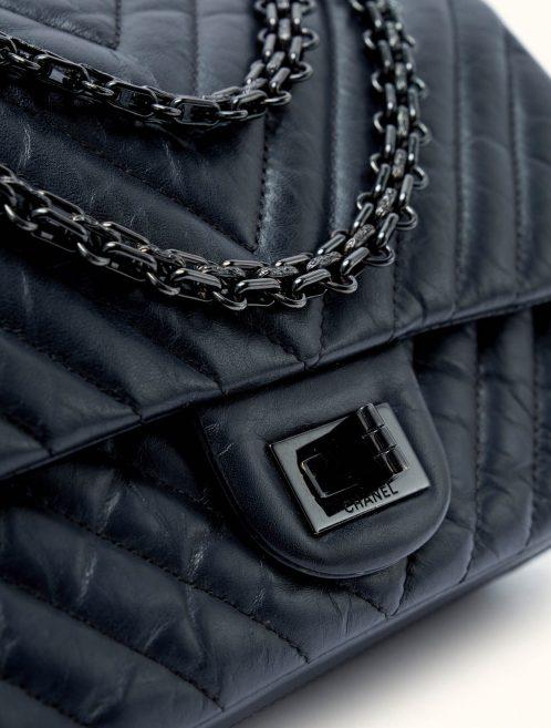 Chanel 2.55 Reissue Lamb So Black Hardware