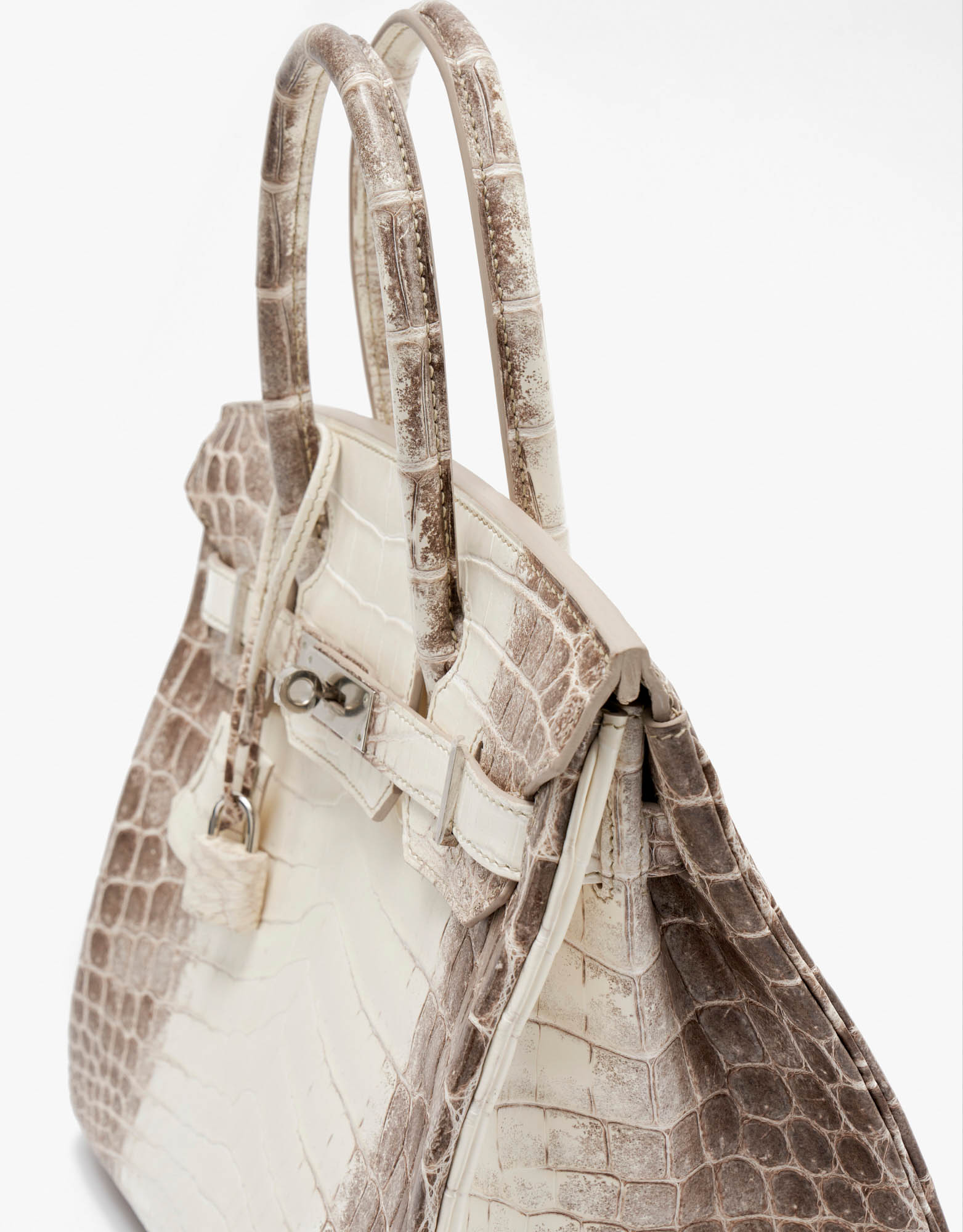 Hermès Birkin 30 Niloticus Himalaya Blanc