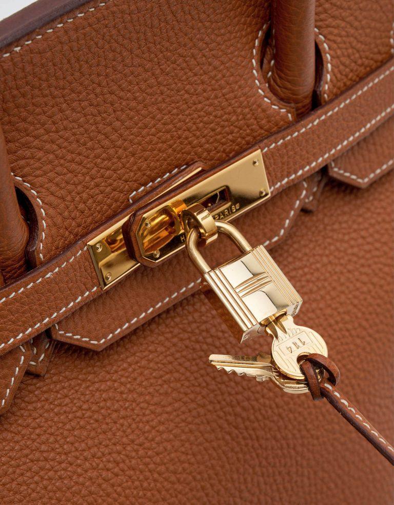 Hermes Birkin 35 Togo Gold