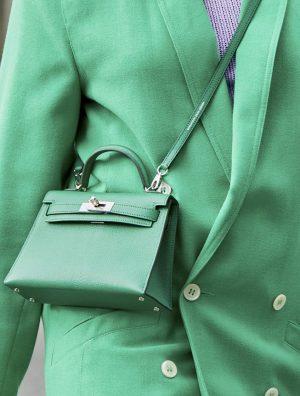 Hermès Kelly Mini Paris Streetstyle
