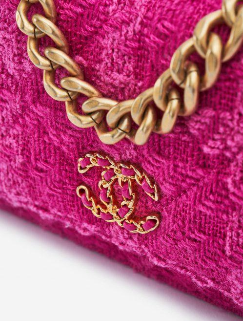 Chanel 19 WOC Tweed Pink