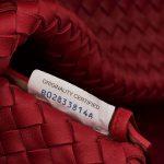 Bottega Veneta Cabat Medium Intrecciato Red Red  | Sell your designer bag on Saclab.com