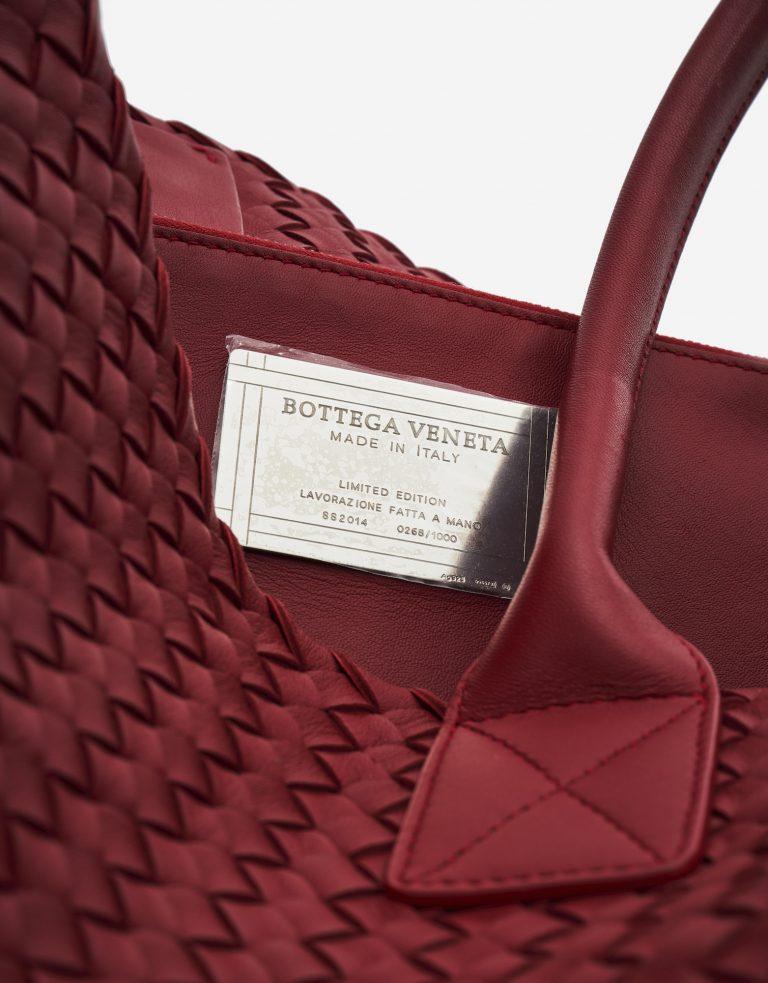 Bottega Veneta Cabat Medium Intrecciato Red