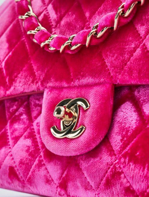 Chanel Timeless Medium Velvet Fuchsia