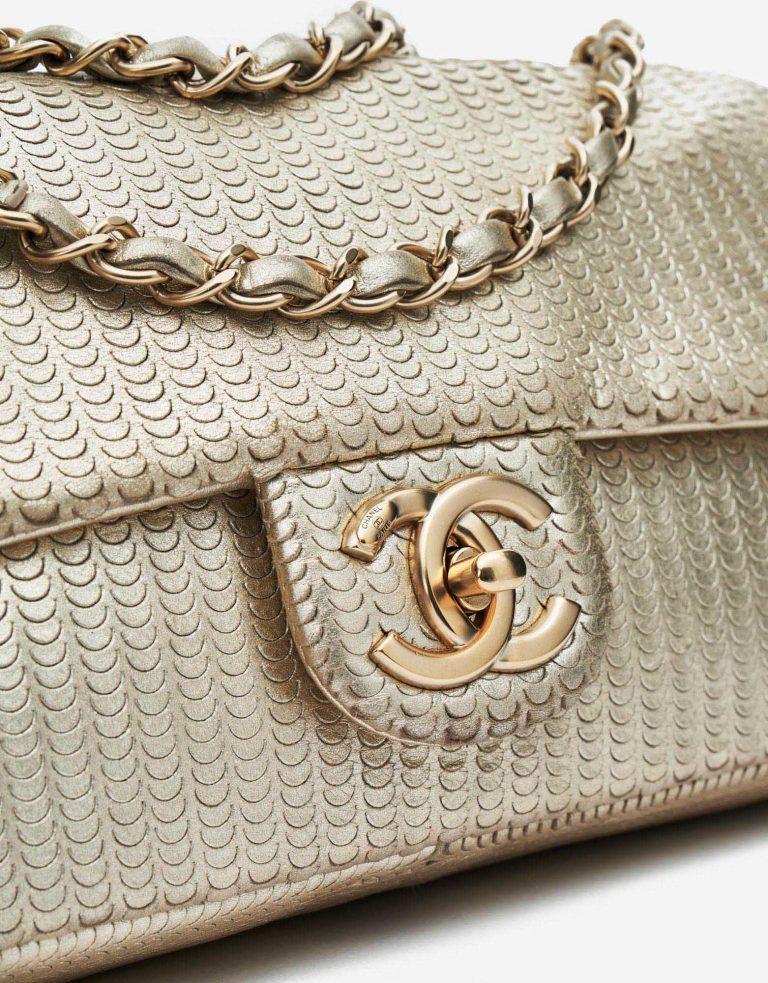Chanel Timeless Medium Paillette Gold