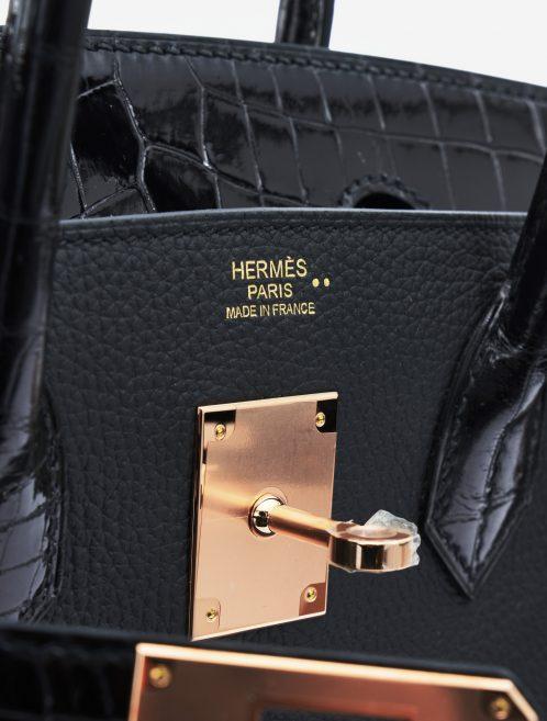 Hermès Birkin Touch 30 Niloticus Togo Black