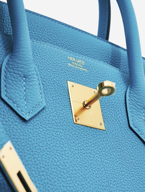 Hermès Birkin 25 Togo Bleu Du Nord