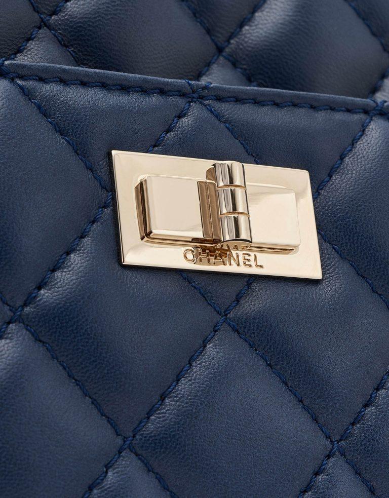 Chanel Camera Mademoiselle Lock Bag Lambskin Blue SACLÀB