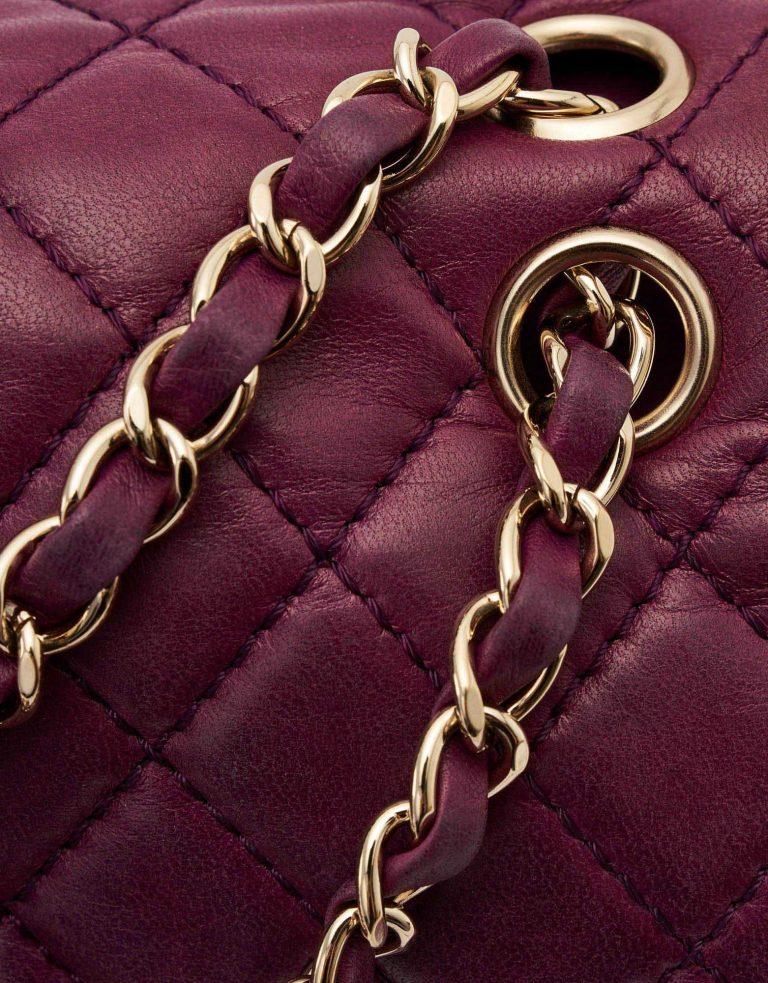 Chanel Timeless Medium Purple Chain SACLÀB