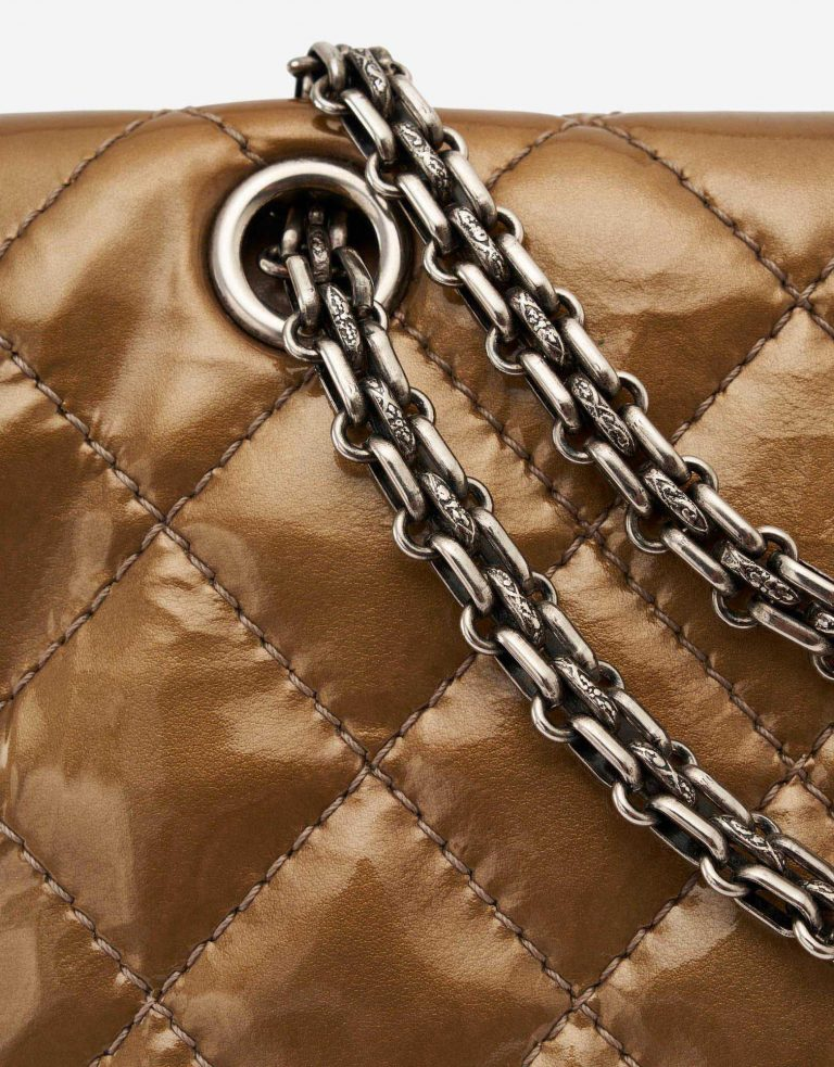 Chanel 2.55 Reissue 277 Patent leather Gold Chain SACLÀB