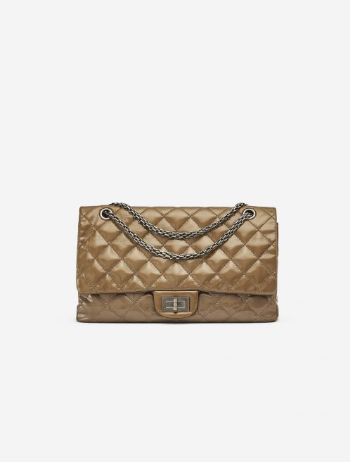 Chanel 2.55 Reissue 277 Patent leather Gold SACLÀB