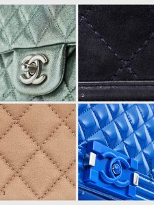 Overview Delicate Chanel leathers